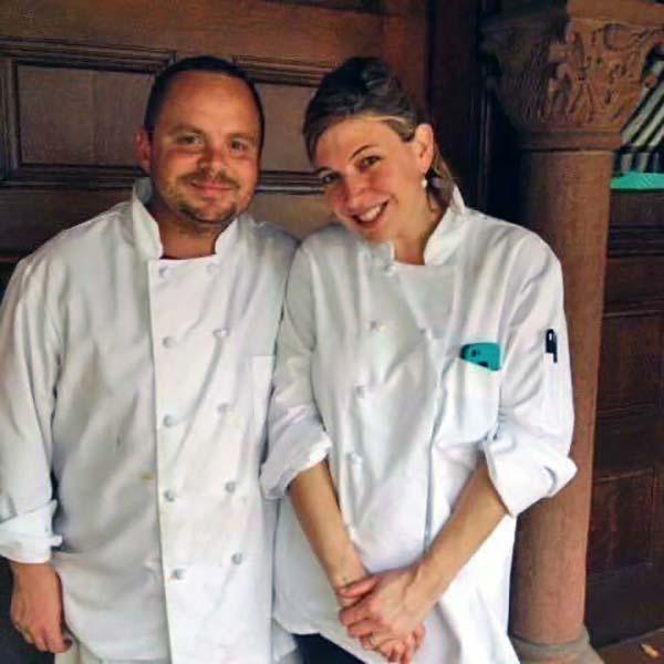 Rebecca and Steve - Chef owners