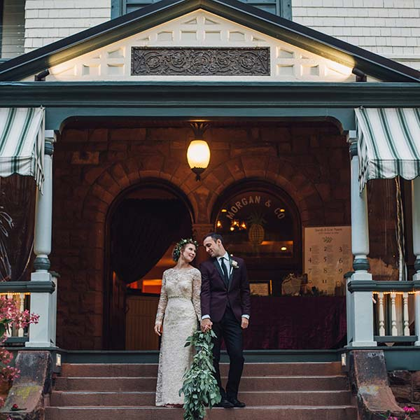 Weddings in Glens Falls at Morgan and Co.